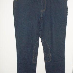 Ralph Lauren Navy jeans  size 16 (#EV475)